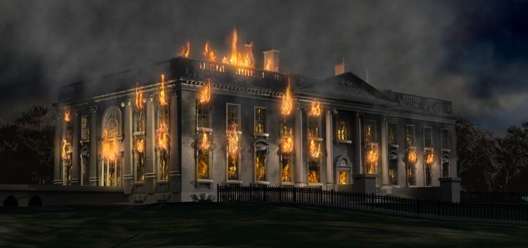 whitehousefire